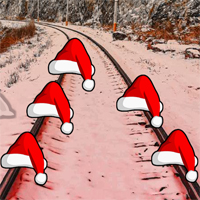 Free online flash games - After Christmas Train Ride Escape