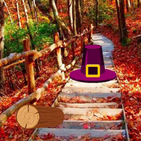 Free online html5 games - Autumn Falls Golden Turkey Rescue game - WowEscape