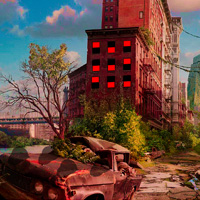 Free online flash games - Big Abandoned City Escape