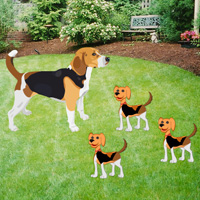 Free online flash games - Big Beagle Puppies Escape
