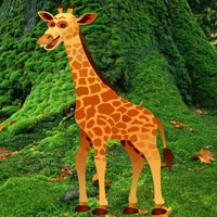 Free online flash games - Big Giraffe Escape