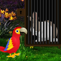 Free online flash games - Big Love Rabbit Escape