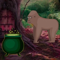 Free online flash games - Big Magical Forest Escape