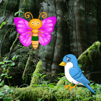 Free online flash games - Big Seral Forest Escape