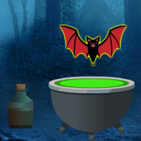 Free online flash games - Big Spooky Forest Escape