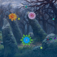 Free online flash games - Bigescape Flower Fantasy Forest game - WowEscape