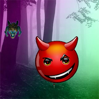 Free online flash games - Crazy Devil Forest Escape