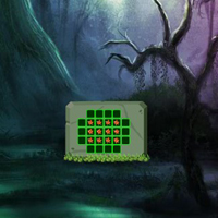 Free online flash games - Dark Green Fantasy Forest Escape