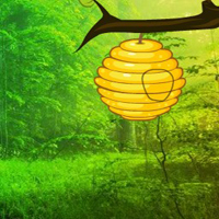 Free online flash games - Enchanting Forest Trees Escape