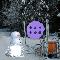 Free online flash games - Escape from Christmas Tree Forest