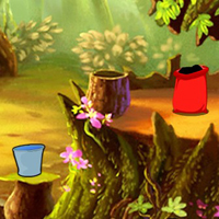 Free online html5 games - Escape From New Year Fantasy Forest game - WowEscape