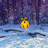 Free online html5 games - Escape from Snow Christmas Forest game - WowEscape