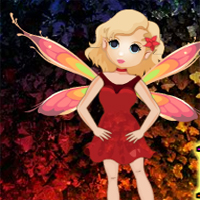 Free online flash games - Fantasy Butterfly Fairy Escape