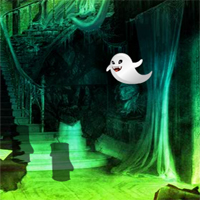 Free online flash games - Fantasy Halloween House Escape