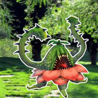 Free online flash games - Fantasy Monster Ochu Forest Escape