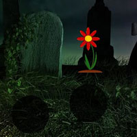Free online flash games - Graveyard Black Cat Rescue