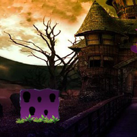 Free online flash games - Halloween Fairy Girl Rescue