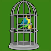 Free online flash games - Mountain Valley Parrot Escape