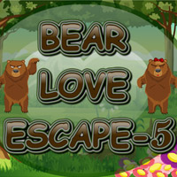 Bear Love Escape-5