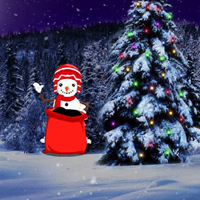 Free online html5 games - Rescue Christmas Santa Girl game - WowEscape