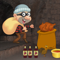 Free online flash games - Rescue Mission-Thanksgiving Food