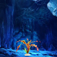 Free online flash games - Rescue Tardigrade from Ice Cave