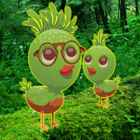 Free online flash games - Rescue Wild Green Chick