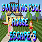 Swimming Pool House Escape 3