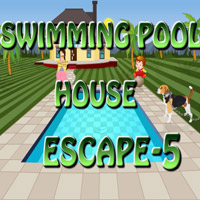 Swimming Pool House Escape-5