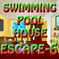 Swimming Pool House Escape-6