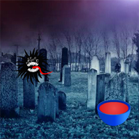 Free online flash games - Spooky Cemetery Escape