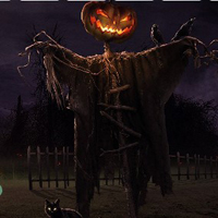 Free online html5 games - Spooky Magic Halloween Escape game - WowEscape