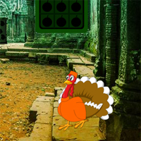 Free online flash games - Thanksgiving Ruins Forest Escape