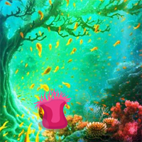 Free online flash games - Underwater Moorish idol Escape