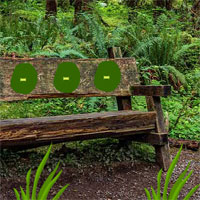 Free online flash games - Wooden Bench Forest Escape