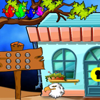 Free online html5 escape games - G2J Barred Owl Escape