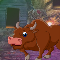 Free online flash games - G4K Awed Bull Escape