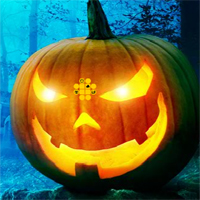 Free online flash games - G2R Halloween Green Pumpkin Escape