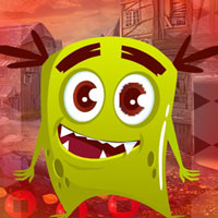 Free online flash games - G4K Frightful Creature Escape