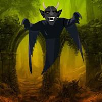 Free online html5 escape games - Halloween Devil Forest Escape HTML5