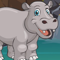 Free online flash games -  G4E Village Hippopotamus Escape