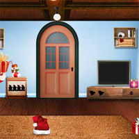 Free online flash games - Top10 Find The Santa Sleigh