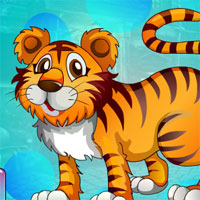 Free online flash games - G4K Winsome Tiger Escape