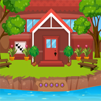 Free online flash games - AVMGames Escape River Forest