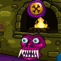 Free online flash games - Games4Escape Halloween Cave Door Escape