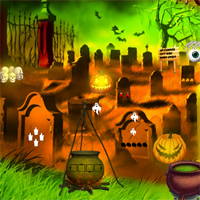 Free online flash games - Top10NewGames Halloween Find The Golden Cap