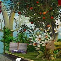 Free online html5 escape games - Elf Garden