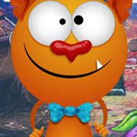Free online flash games - G4K Humour Monster Escapee