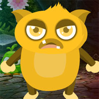 Free online flash games - G4K Yellow Creature Escape