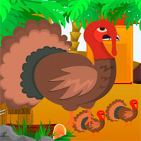Free online flash games - Escape Thanksgiving Desert